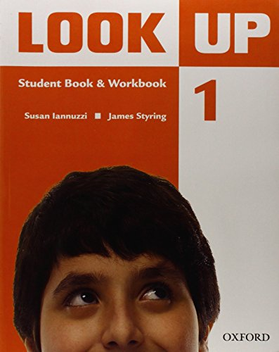 9780194123549: Look Up: Level 1: Student Book & Workbook with MultiROM: Confidence Up! Motivation Up! Results Up!