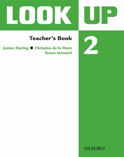 9780194123570: Look Up: Level 2: Teacher's Book: Confidence Up! Motivation Up! Results Up!