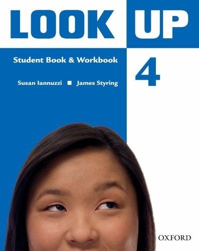 9780194123693: Look Up: Level 4: Student Book & Workbook with MultiROM: Confidence Up! Motivation Up! Results Up!