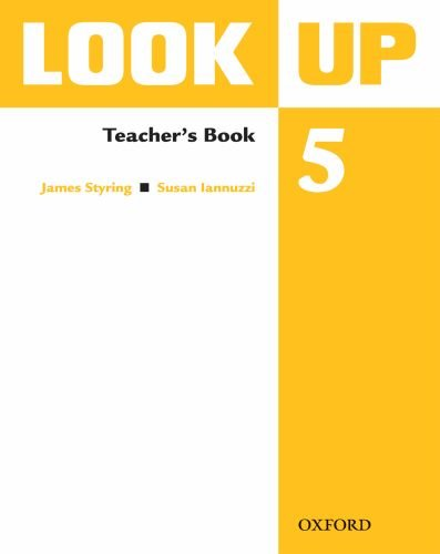 9780194123723: Look Up: Level 5: Teacher's Book: Confidence Up! Motivation Up! Results Up!