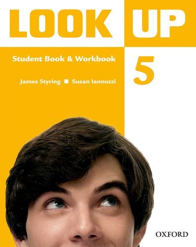 9780194123747: Look Up: Level 5: Student Book & Workbook with MultiROM: Confidence Up! Motivation Up! Results Up!