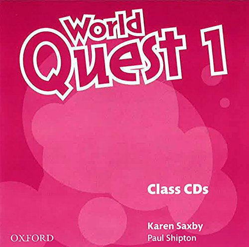 9780194125857: World Quest 1: Class CD (2)