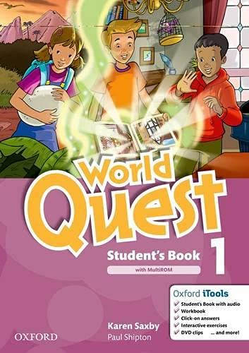 9780194125864: World Quest 1: Student's Book and Multi-ROM Pack
