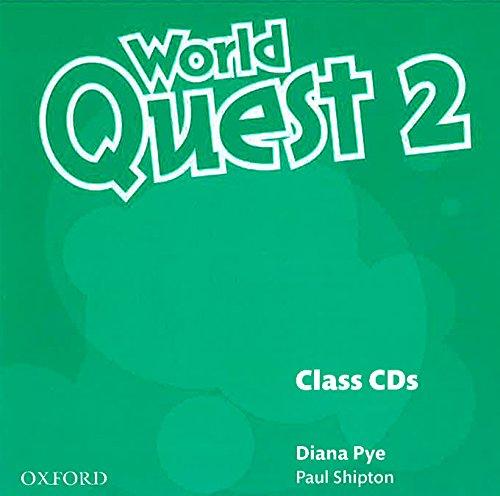 9780194125949: World Quest 2: Class CD (3)
