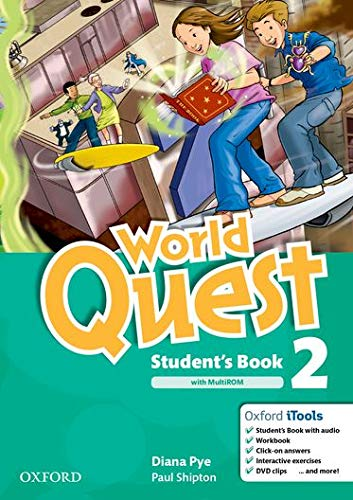 9780194125956: World Quest: 2: Student's Book Pack