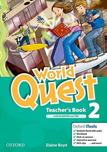 9780194125963: World Quest 2: Teacher's Book Pack