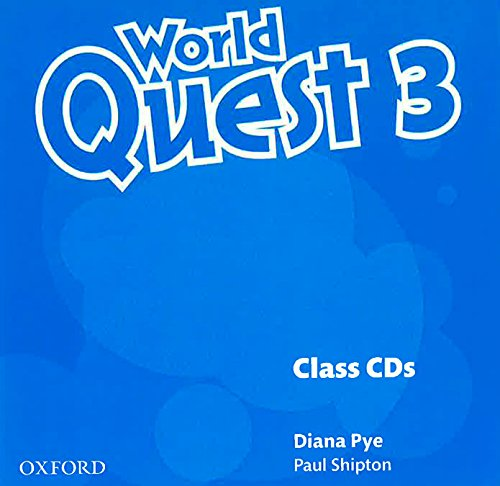 9780194126038: World Quest: 3: Class Audio CDs (3 Discs)