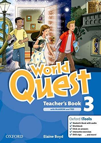9780194126052: World Quest 3: Teacher's Book Pack