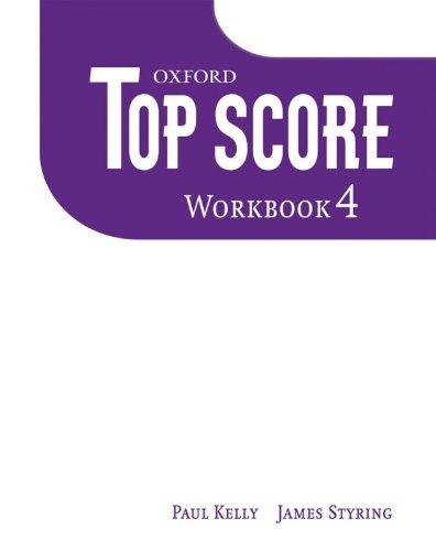 Top Score 4: Workbook: Wildman, Jayne, Styring,