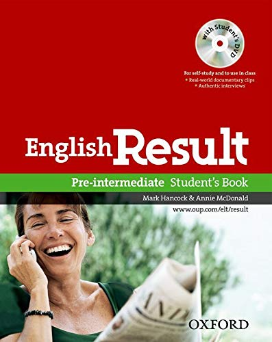 9780194129558: English Result Pre-Intermediate: Student's Book DVD Pack