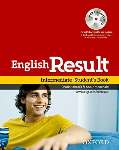 9780194129565: English result. Intermediate. Student's book. Per le Scuole superiori. Con DVD-ROM