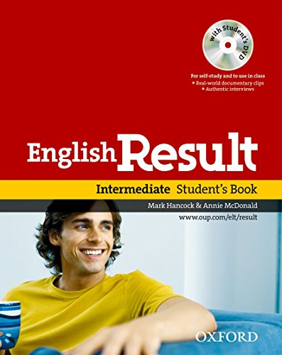 9780194129565: English Result: Intermediate: Student's Book with DVD Pack: General English four-skills course for adults