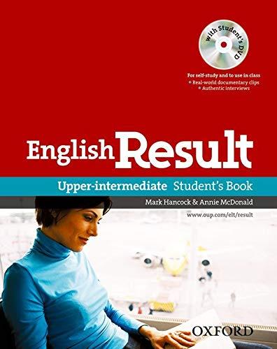 9780194129572: English result. Upper-intermediate. Student's book. Per le Scuole superiori. Con DVD-ROM