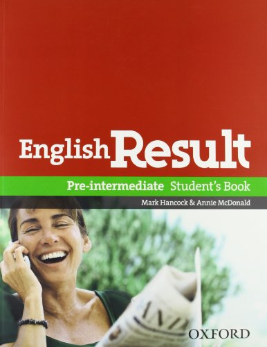 9780194129602: English result. Pre-intermediate. Entry checker-Student's book-Workbook-Key. Con espansione online. Per le Scuole superiori. Con DVD. Con CD-ROM. Con Multi-ROM