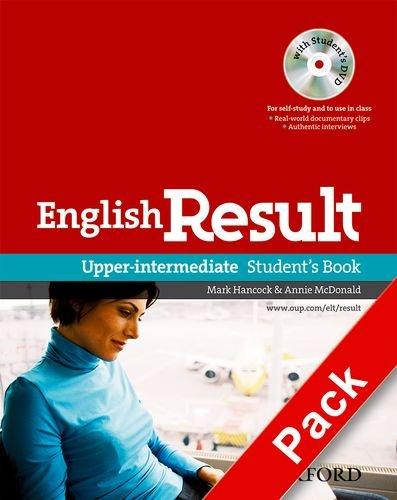 9780194129664: English result. Upper-intermediate. Entry checker-Student's book-Workbook. Con espansione online. Per le Scuole superiori. Con DVD. Con CD-ROM. Con Multi-ROM
