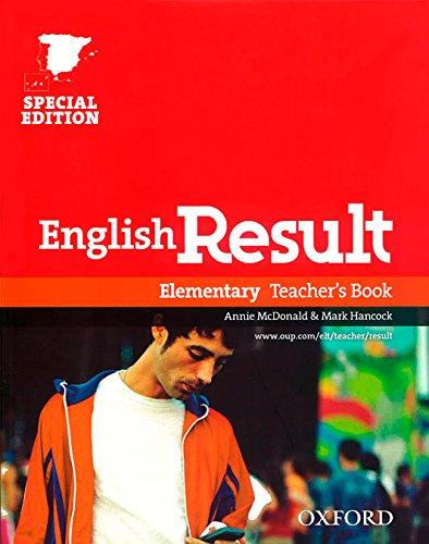 9780194129688: English Result Elementary: Teacher's Book Edition 10