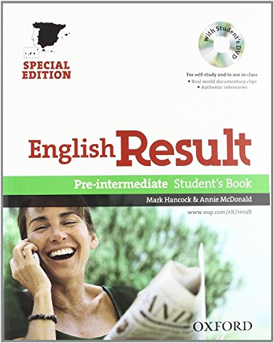 9780194129732: English Result Pre-Intermediate Student's Book. New edition 2010 Pack