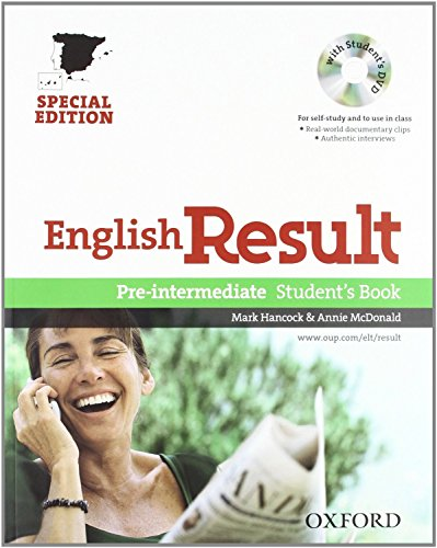 9780194129749: English Result Pre-Intermediate: Student's Book and Workbook Pack Without Key Edition 10