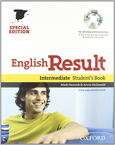 9780194129770: English Result Intermediate: Student's Book and Workbook Pack With Key Edition 10