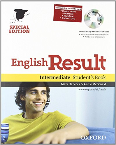 9780194129787: English Result Intermediate: Student's Book and Workbook Pack Without Key Edition 10