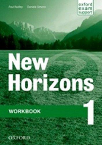 9780194134286: New Horizons: 1 Workbook