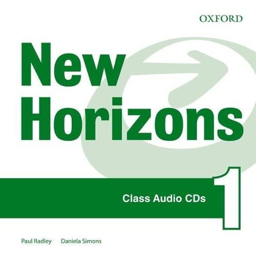 New Horizons: 1: Class CD: Paul Radley