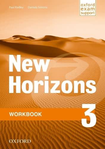 9780194134521: New Horizons: 3: Workbook