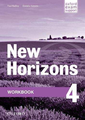 9780194134644: New Horizons: 4: Workbook