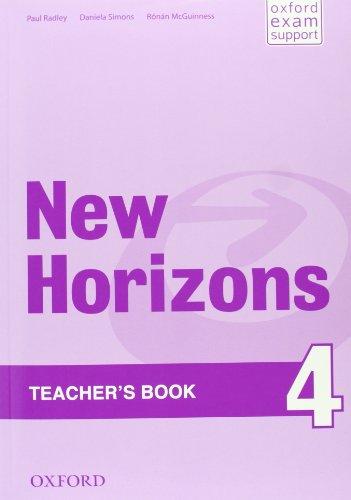 9780194134682: New Horizons: 4: Teacher's Book