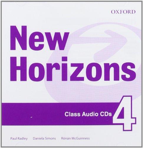 9780194134699: New Horizons: 4: Class CD