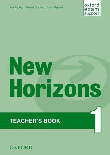 9780194134798: New Horizons: 1: Teacher's Book