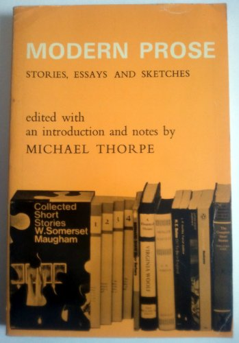 9780194167062: Modern prose: stories, essays and sketches;