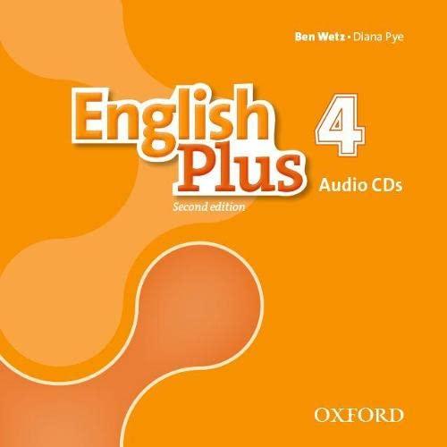 9780194201872: English Plus: Level 4: Class Audio CDs