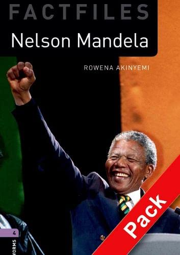 9780194226301: Oxford Bookworms Library Factfiles: Level 4:: Nelson Mandela Audio CD Pack: Oxford Bookworms Library Factfiles: Level 4:: Nelson Mandela audio CD pack 1400 Headwords