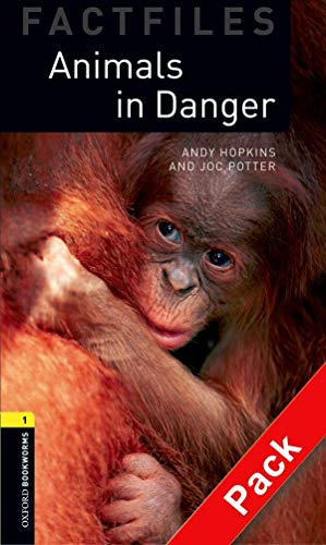 9780194235761: Oxford Bookworms Library Factfiles: Level 1:: Animals in Danger audio CD pack (Oxford Bookworms ELT)