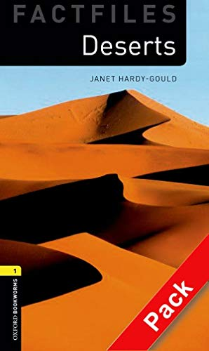 9780194236300: Oxford Bookworms Library: Oxford Bookworms. Factfiles Stage 1: Deserts CD Pack Edition 08