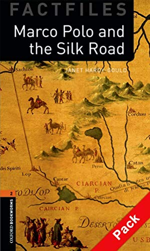 9780194236423: Oxford Bookworms Library Factfiles: Level 2:: Marco Polo and the Silk Road audio CD pack