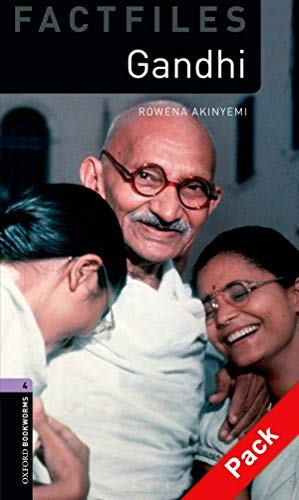 9780194237833: Oxford Bookworms Library Factfiles: Level 4:: Gandhi audio CD pack (Oxford Bookworms ELT)