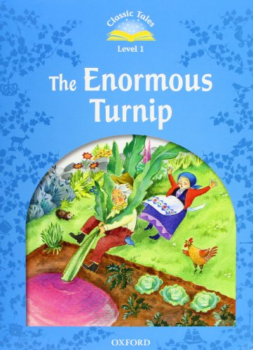 9780194238694: Classic Tales Second Edition: Level 1: The Enormous Turnip e-Book & Audio Pack
