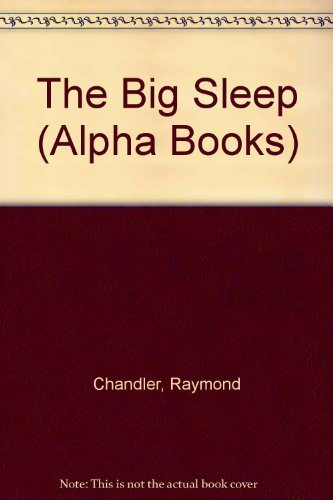 9780194242219: The Big Sleep (Alpha Books)