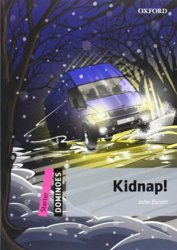 9780194246750: Dominoes- Starter: Kidnap!- Pack (libro y multiROM)