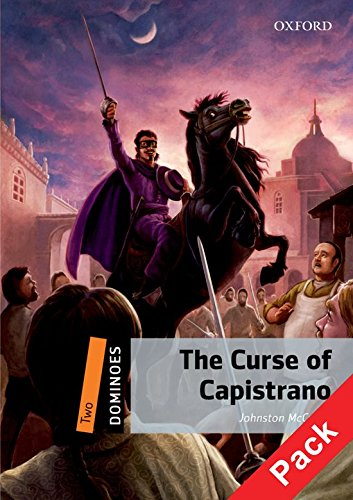 9780194249232: Curse of capistrano. Dominoes. Livello 2. Con Multi-ROM