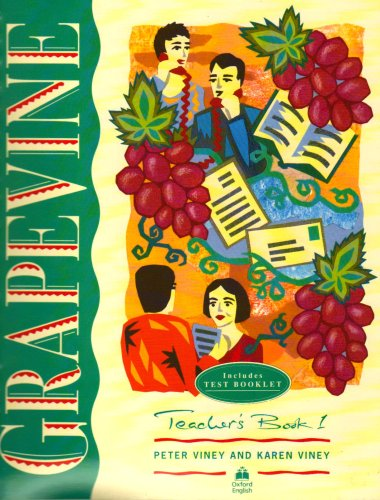 9780194253826: Grapevine. Teacher's Book 1