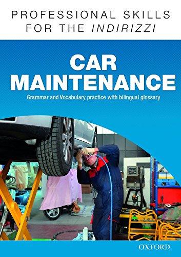 9780194276375: Oxford Professional Skills - Car Maintenance. Workbook