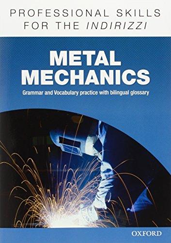 9780194276443: Oxford Professional Skills - Metal Mechanics. Workbook
