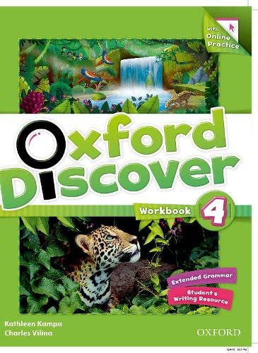 9780194278195: Oxford Discover: 4: Workbook with Online Practice
