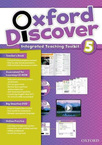 9780194278225: Oxford Discover 5: Teacher's Book+Online Practice