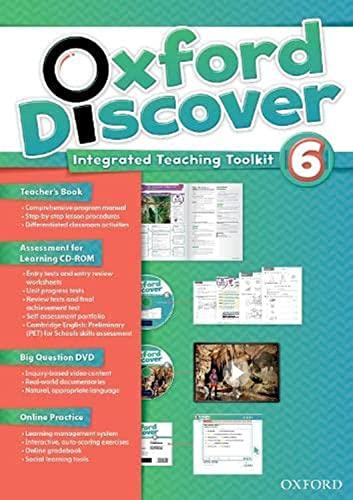 9780194278249: Oxford Discover 6: Teacher's Book+Online Practice