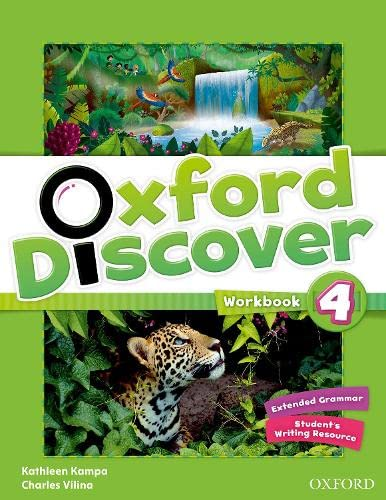 9780194278805: Oxford Discover: 4: Workbook