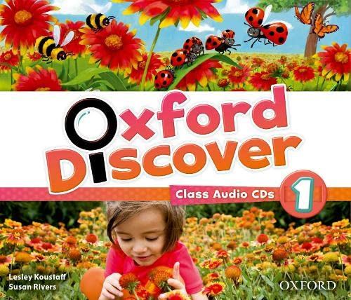 9780194278997: Oxford Discover: 1: Class Audio CDs